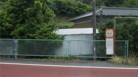 国道バス停
