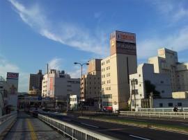 松江駅方面