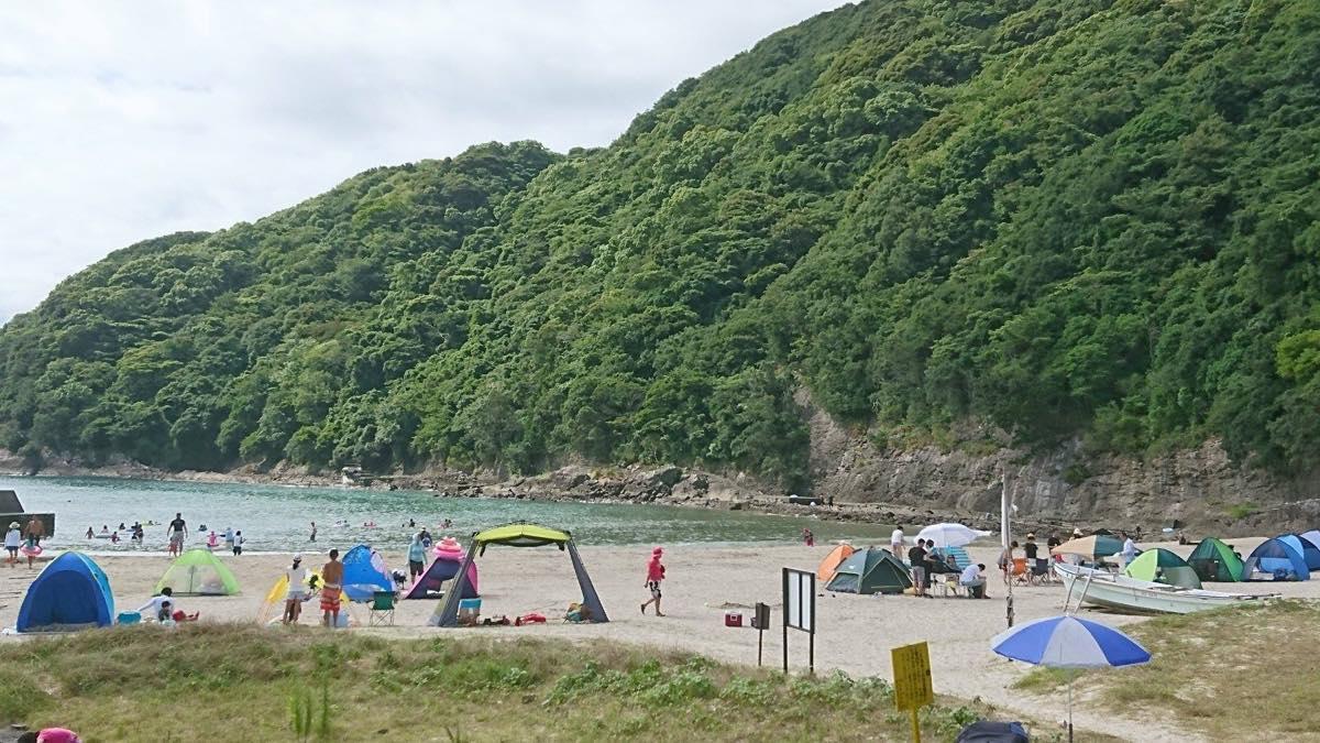 8月5日鍋田浜