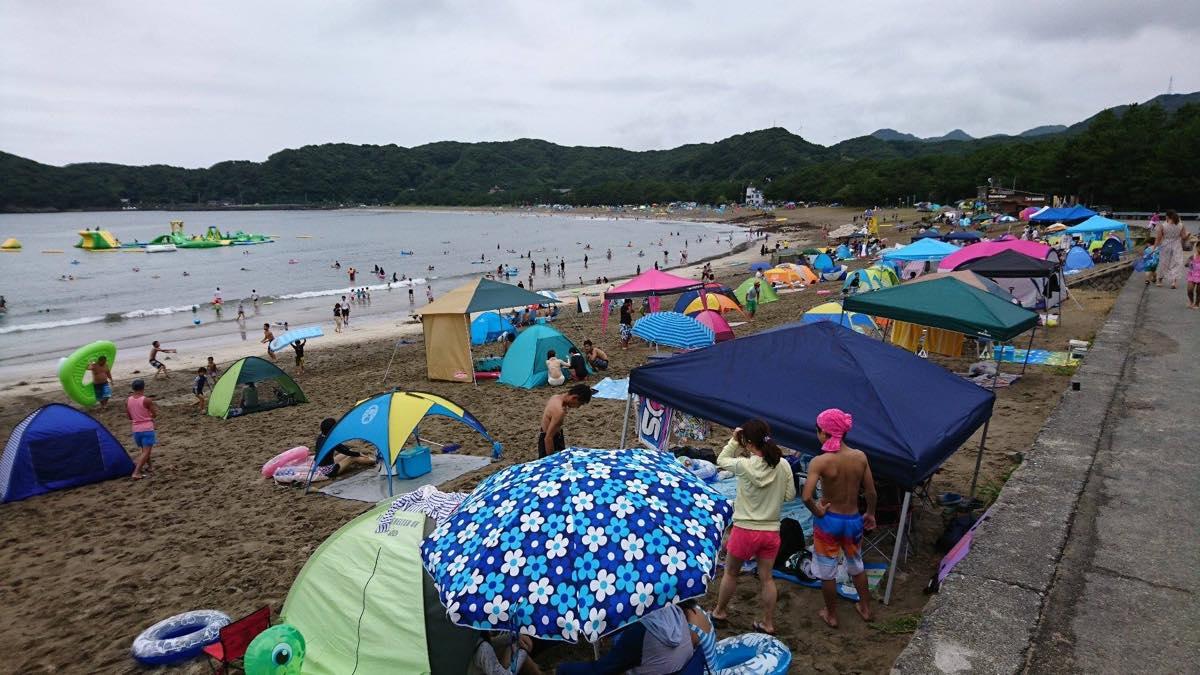 8月11日弓ヶ浜